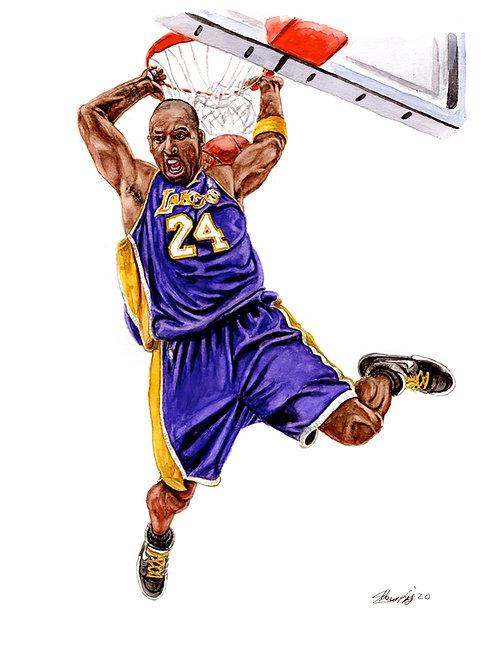 Kobe Bryant Tribute III - Print
