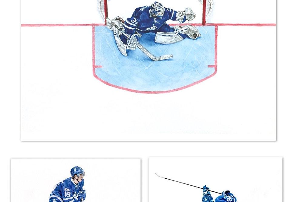 Maple Leafs Set - 3 Prints