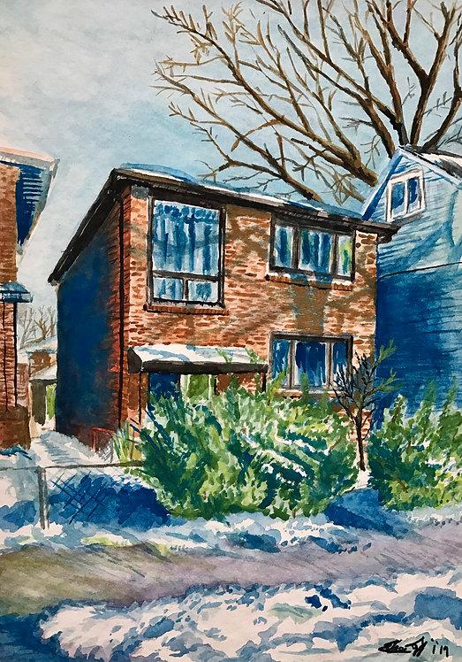 East York House - Print