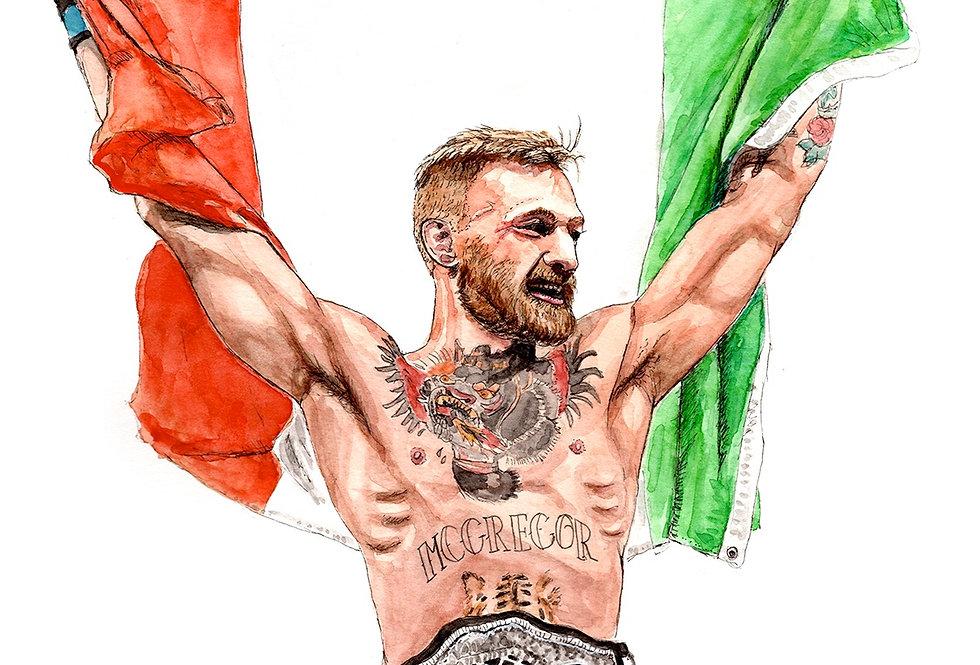 Conor McGregor - Print