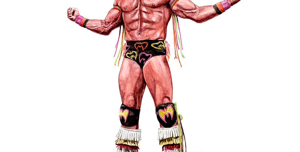 The Ultimate Warrior - Print