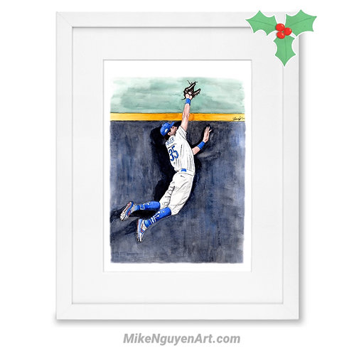 Cody Bellinger, 2020 World Series Champion - Print