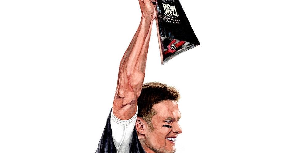 Tom Brady - 2021 Super Bowl Champ - Print