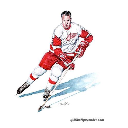 Mr Hockey, Gordie Howe - Print