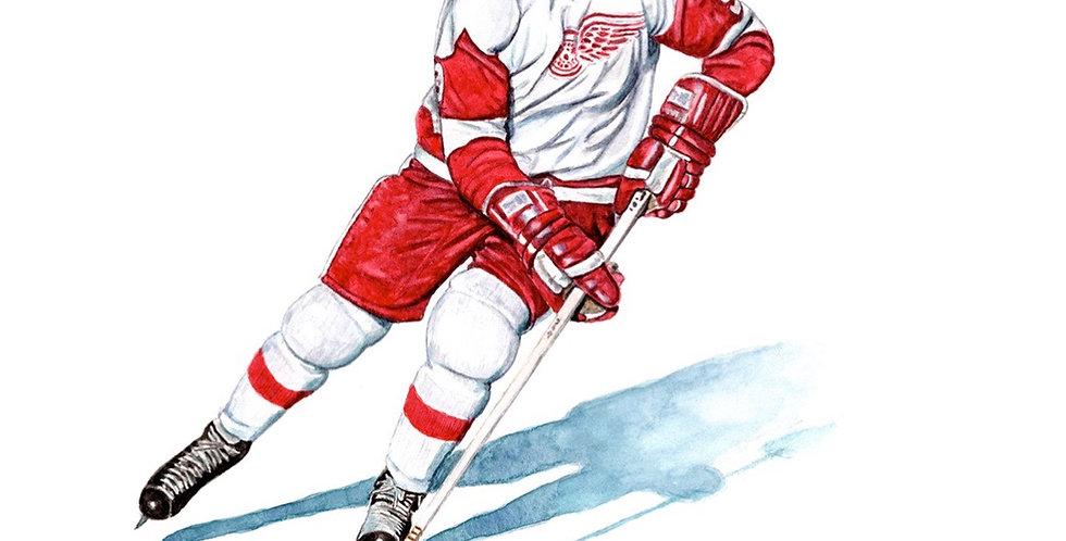 Mr. Hockey, Gordie Howe - Print
