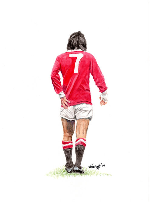 GEORGE BEST - ORIGINAL -SOLD
