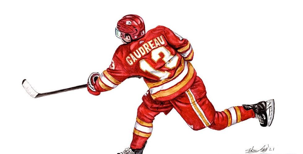 Johnny Hockey - Print