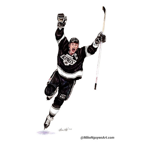 Wayne Gretzky, 1851 Points Celebration - Print
