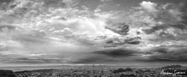 2019 Post-Rainstorm SF Peninsula B&W