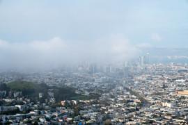 2019 Fog Rolling in, From Twin Peaks
