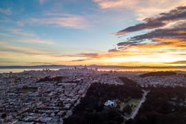 2018 Sunrise over Golden Gate Park