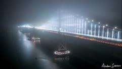 2019 Bay Bridge Steel in Fog