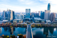 2019 Downtown Austin Cool Blue Dawn