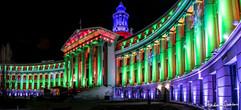 2019 Denver City Hall at Christmas