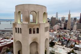 2019 Coit Tower Closeup
