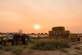 2017 Smoky Sunset at 0ft