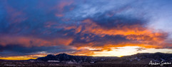 2019 Flatirons Sunset Panorama