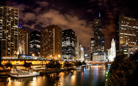 2016 Riverwalk at Night