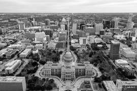 2020 Capitol and Downtown B&W