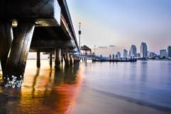 2016 SD Skyline Under Pier