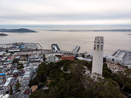2019 Coit Tower and Telegraph Hill