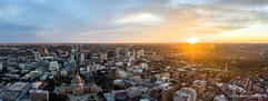 2020 Capitol and Downtown Sunset Panorama