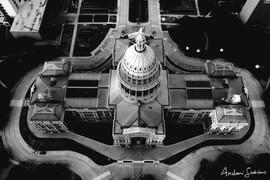 2020 Capitol Building B&W