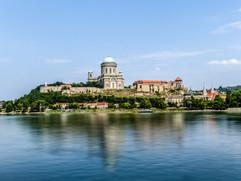 2014 Basilica of Esztergom from across the Danube, Slovakian Side