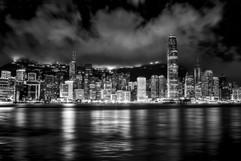 2015 Skyline from Kowloon Island