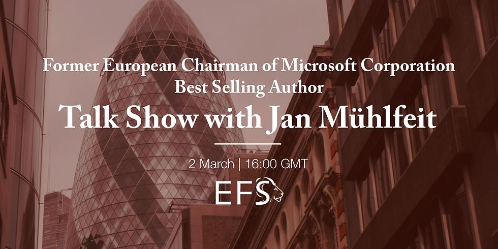 Talk Show with Jan Mühlfeit