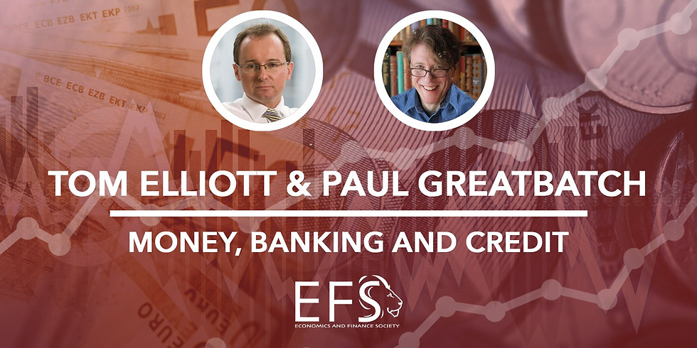 Money, Banking and Credit (Whole Day Event)