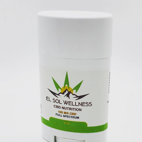 El Sol Wellness Full Spectrum CBD Pain Stick 100mg