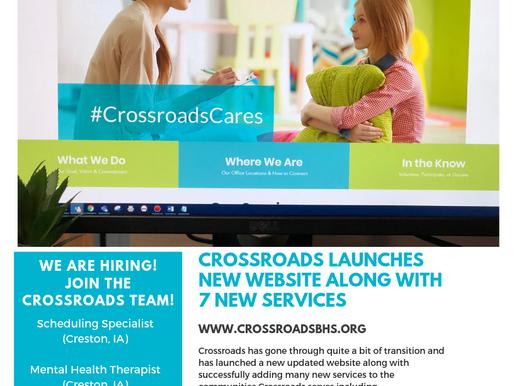 Crossroads Cares Newsletter: Quarter 2, 2019