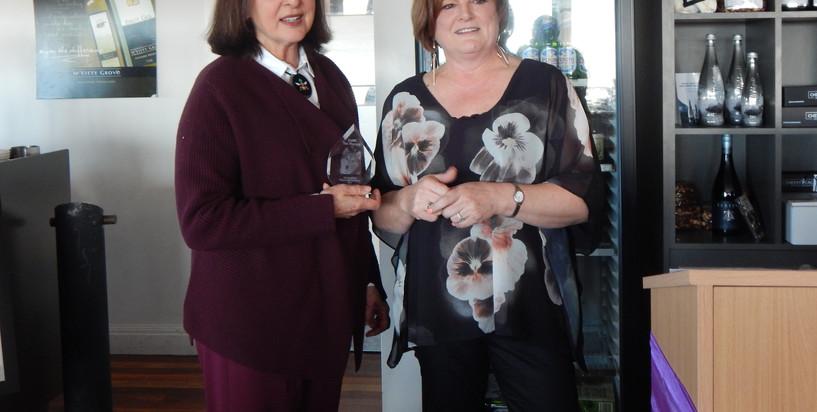 Karen Middleton and Sharon
