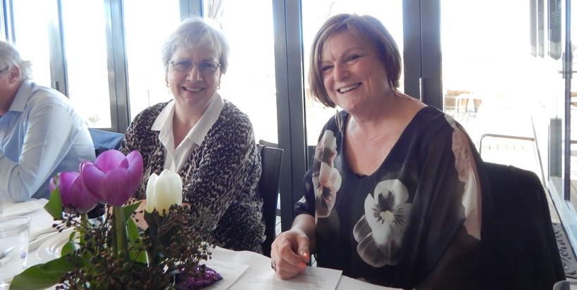 Sharon and Jen Brady