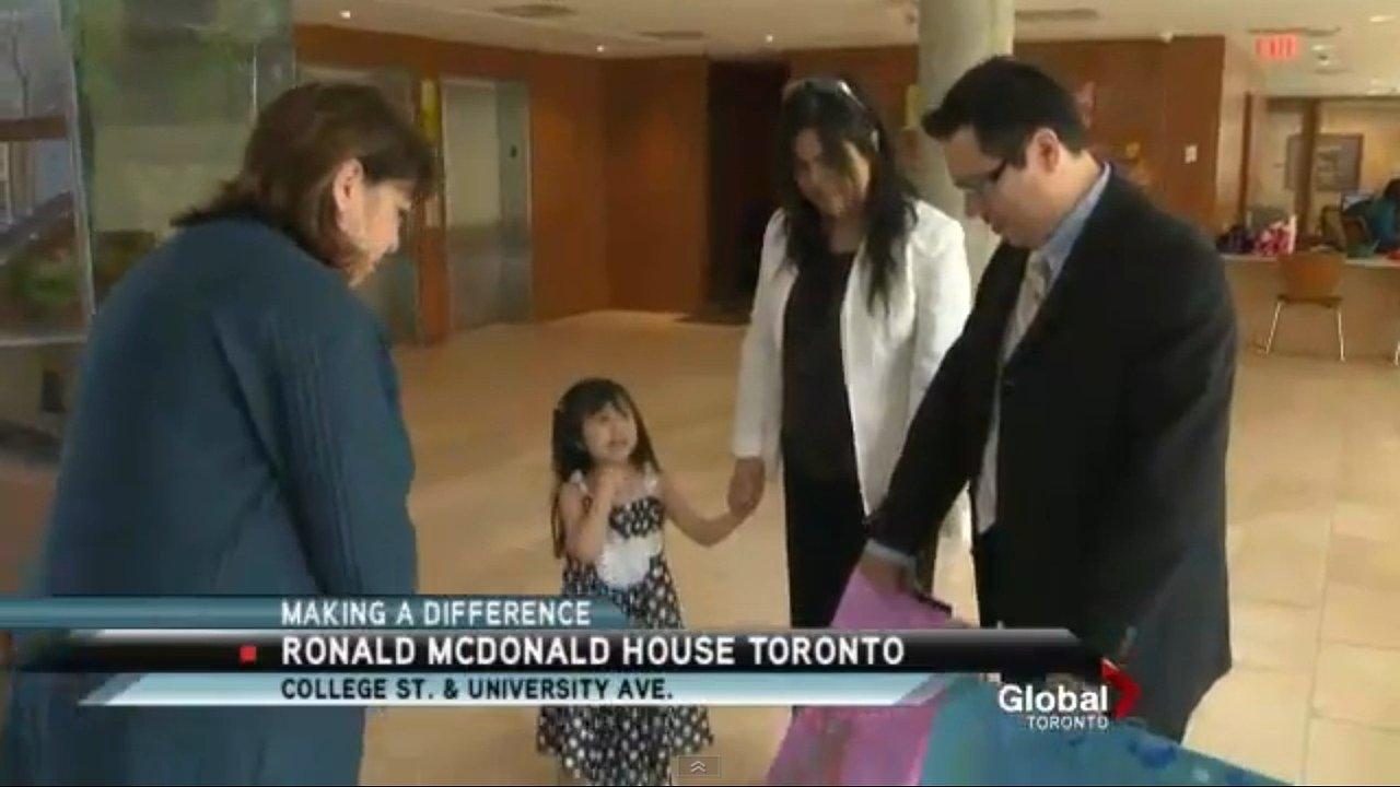 Donation to Ronald McDonald House