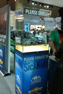 Donation to Sickkids Toronto