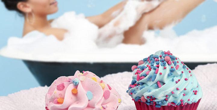 Set of 4 Bath Cupcakes