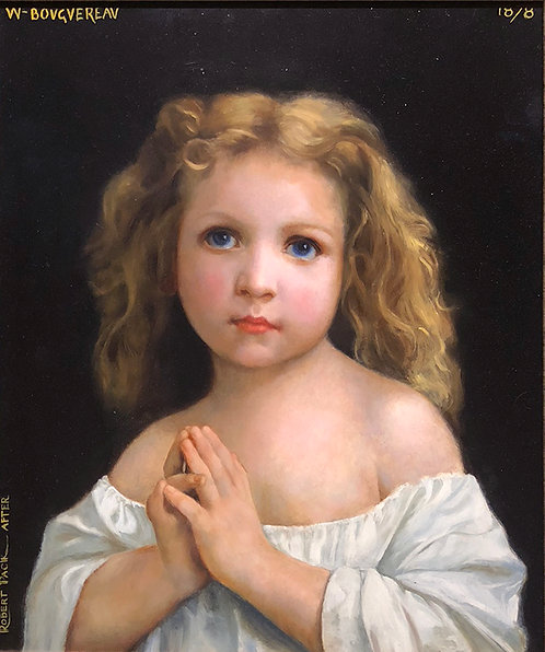 """La Priere (The Prayer) 15""""x18"""" (full scale)"""