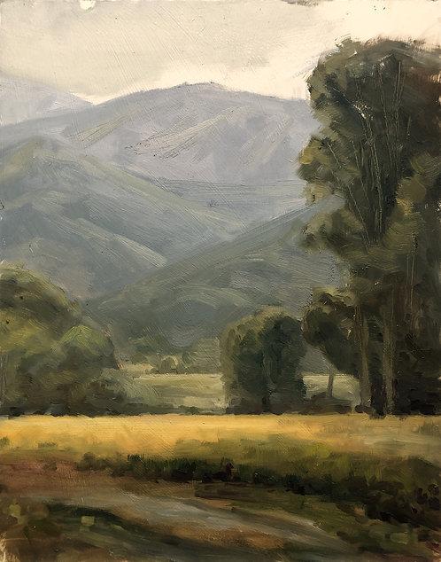 """Sourdough Canyon (11"""" x 14"""")"""