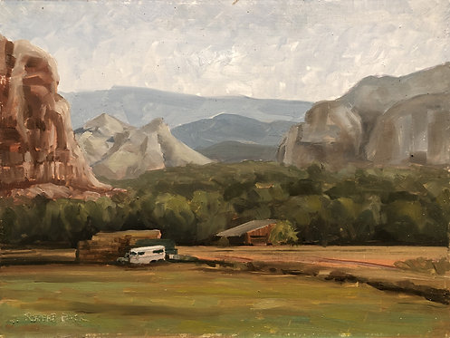 "Ashley Creek Canyon (12"" x 9"")"