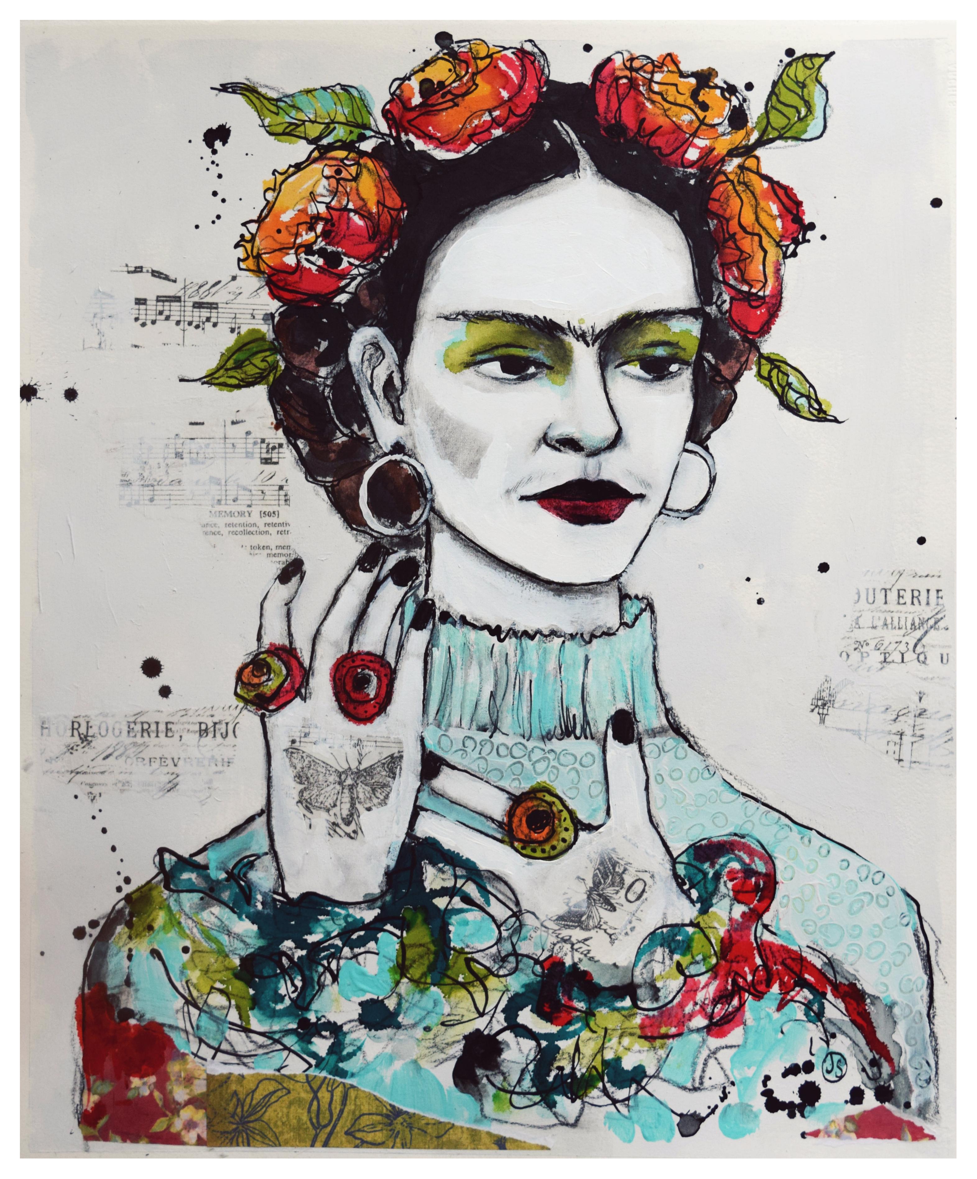 Blend Dirt Frida Small Print
