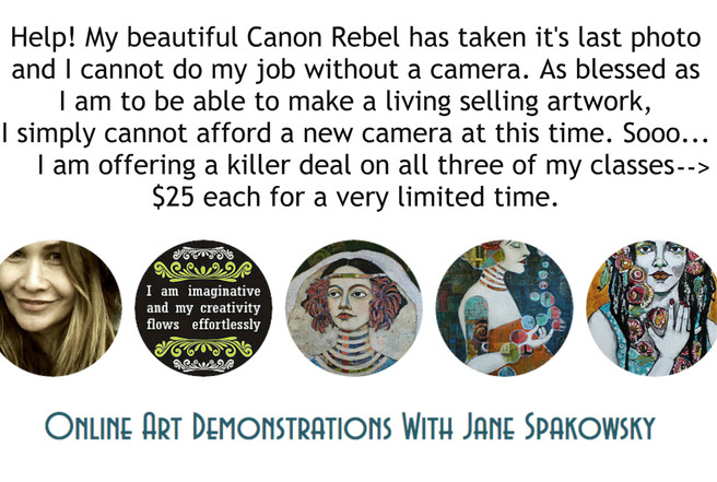 Camera Fundraiser = Discounted Workshops!