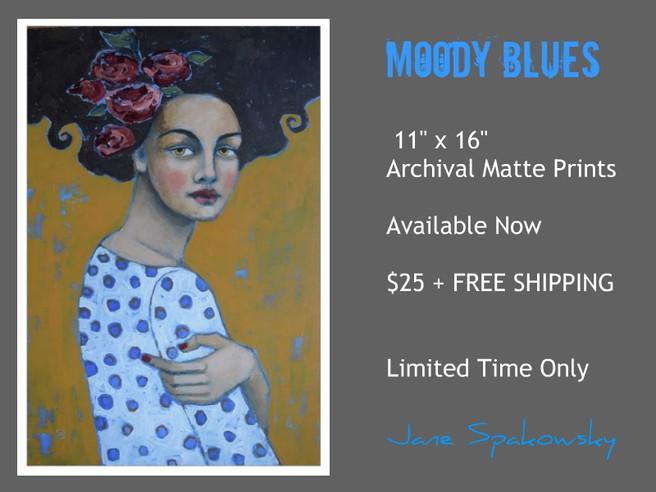 Moody Blues Print