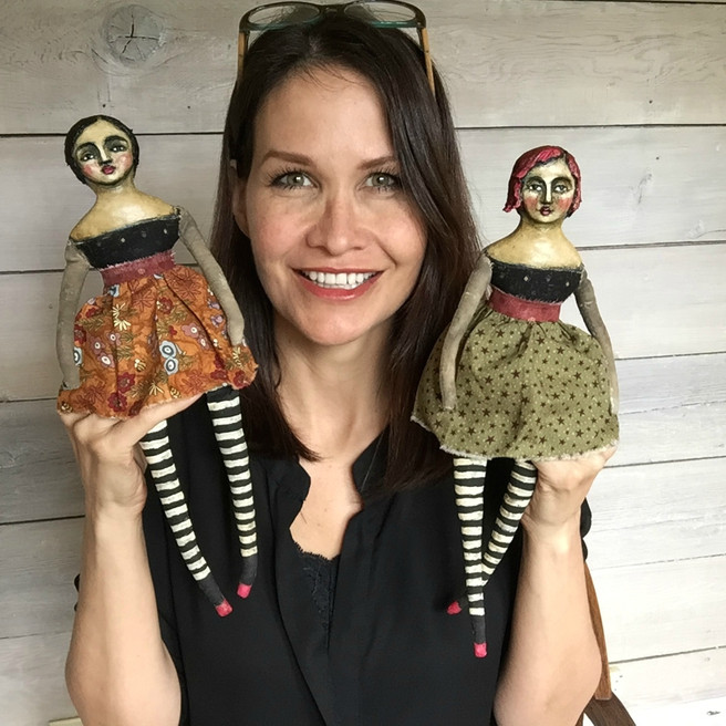 Cloth and Clay Art Doll Lesson