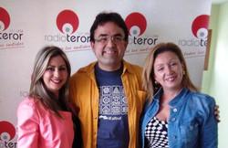 Con Gema Díaz y Lidia Monzón