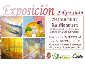 Exposición en La Palma · 20 de marzo al 20 de abril de 2016.