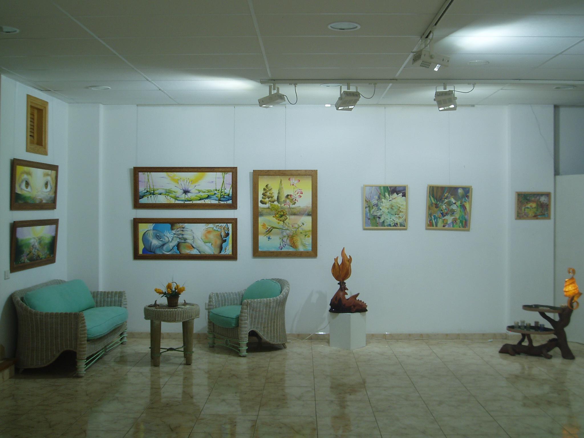 Exposición Galería Arte Canaria