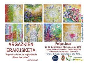 Exposición en Euskadi · 27 de diciembre al 24 de enero