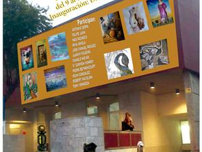 Exposición junto al Colectivo de Artistas Aruquenses en las Fiestas de Valleseco 2015.